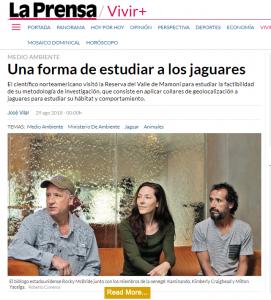 Kaminando La Prensa